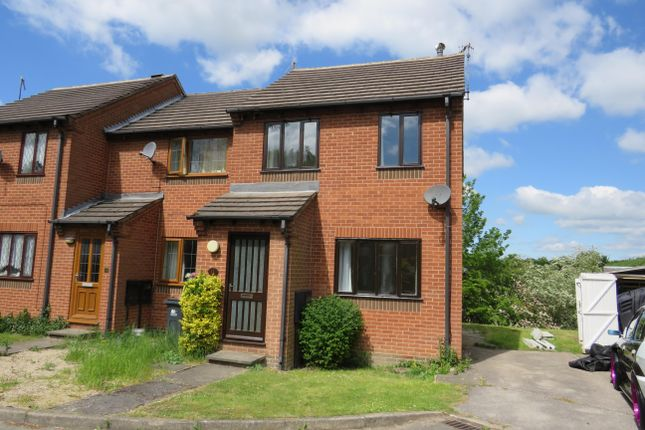 Thumbnail Semi-detached house to rent in Manor Croft, Ripley