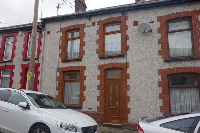 Thumbnail Terraced house to rent in Treharne Street, Cwmparc