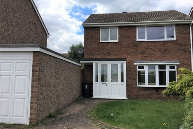 Thumbnail Detached house to rent in Ashlands Close, Perrycrofts, Tamworth, Staffordshire