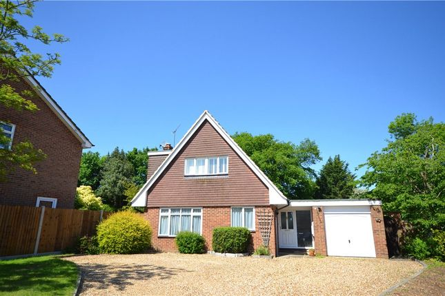 Thumbnail Detached house for sale in Badgers Holt, Yateley, Hampshire