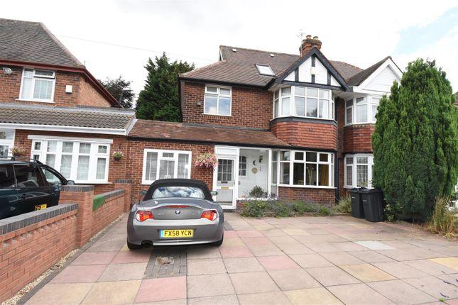 Thumbnail Semi-detached house for sale in Ventnor Avenue, Hodge Hill, Birmingham