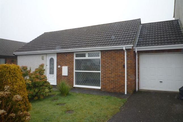 Thumbnail Bungalow to rent in Park Gwyn, St. Stephen, St. Austell