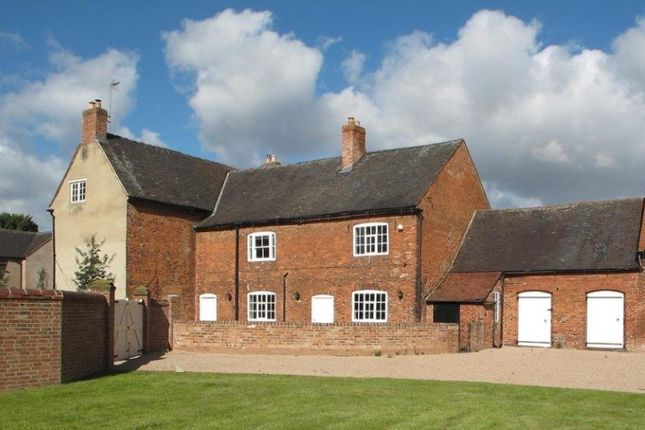 Thumbnail Farmhouse for sale in The Limes, Main Street, Breedon-On-The-Hill, Derby, Derbyshire