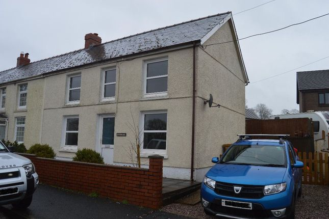 Thumbnail Property to rent in Porthyrhyd, Carmarthen