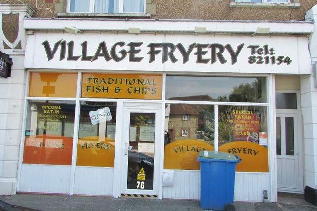 Thumbnail Restaurant/cafe for sale in 76 Felpham Road, Bognor Regis