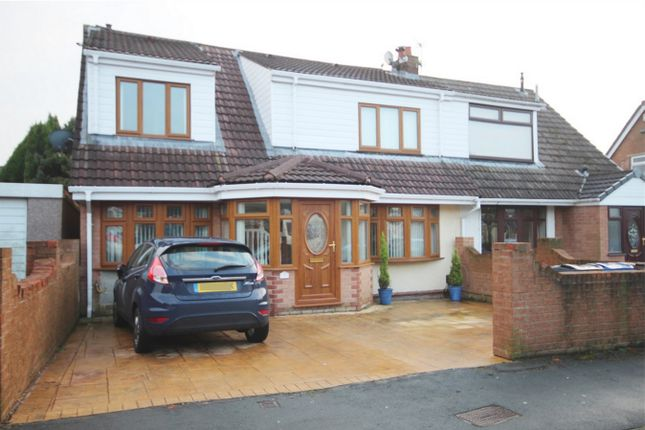 Thumbnail Semi-detached house for sale in Reepham Close, Wigan, Lancashire