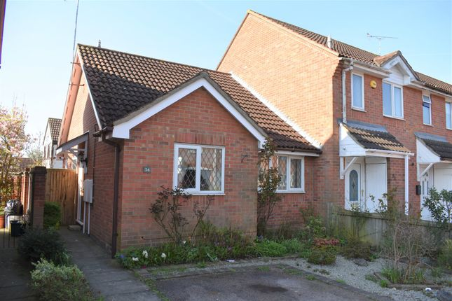 Thumbnail Terraced bungalow for sale in Albrighton Croft, Highwoods, Colchester