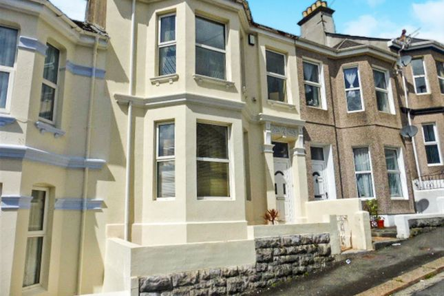Thumbnail Terraced house for sale in Cecil Avenue, Plymouth