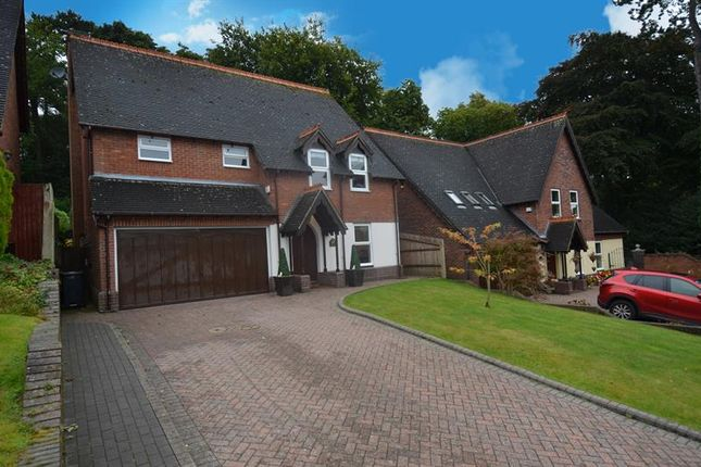 Thumbnail Detached house for sale in St Johns Wood, Rednal, Birmingham