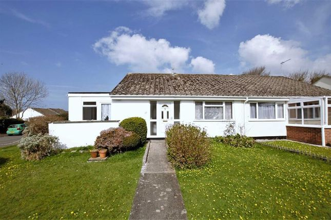 Thumbnail Semi-detached bungalow for sale in Hallett Way, Bude, Cornwall