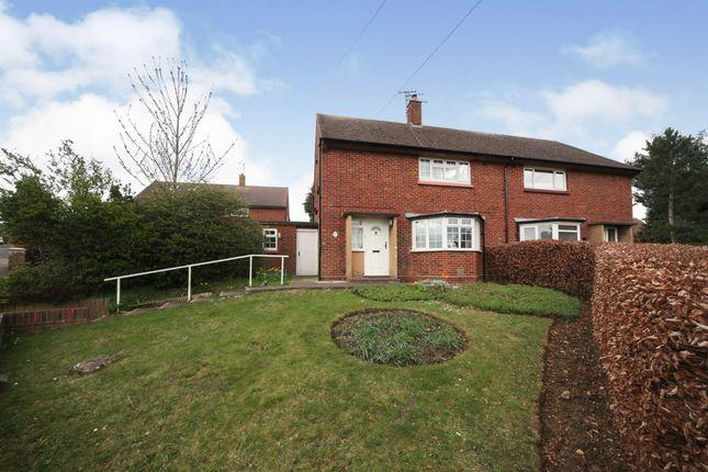 Thumbnail Semi-detached house for sale in Noke Shot, Harpenden