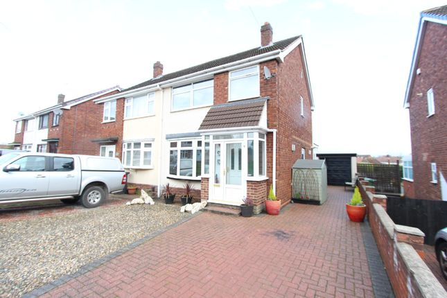 Thumbnail Semi-detached house for sale in Thornby Avenue, Belgrave, Tamworth