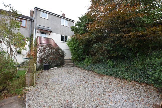 Thumbnail End terrace house to rent in Traly Close, Bude