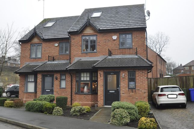 Thumbnail Semi-detached house for sale in King Edwards Court, Gee Cross, Hyde