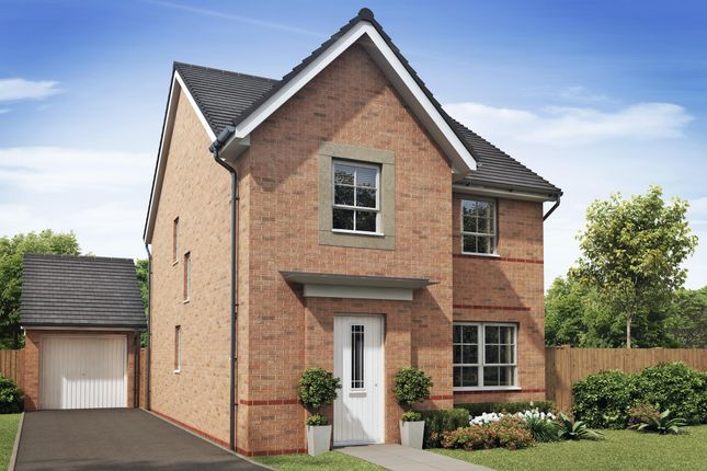 "Thumbnail Detached house for sale in ""Kingsley"" at Llantrisant Road, Capel Llanilltern, Cardiff"