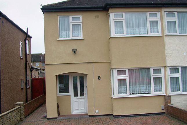 Thumbnail Terraced house to rent in Brookway, Rainham
