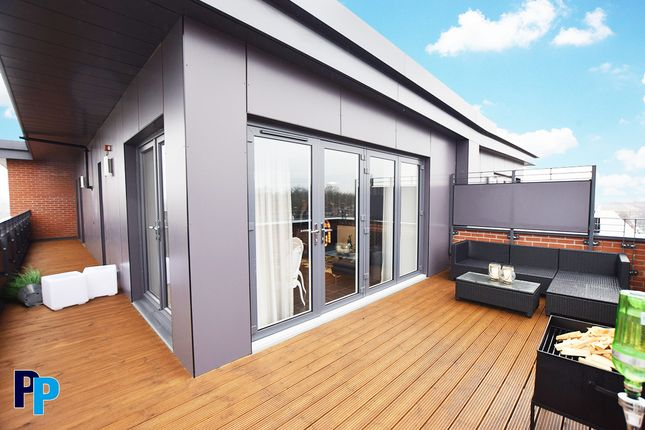 Thumbnail Flat to rent in Trinity Walk, Derby