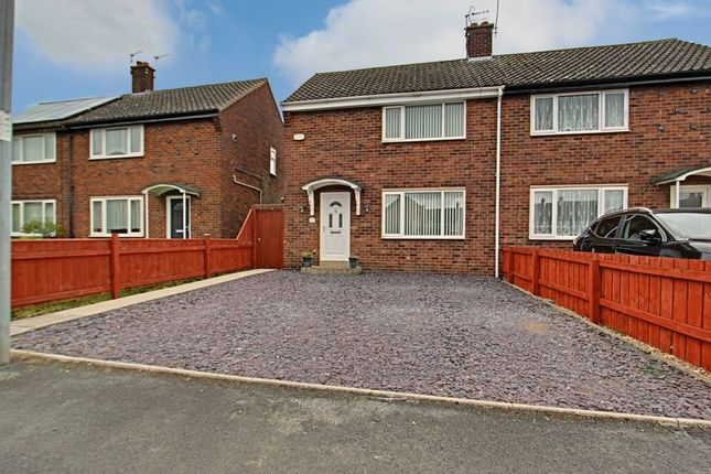 Thumbnail Semi-detached house for sale in Sigston Road, Beverley