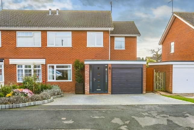 Thumbnail Semi-detached house for sale in Flower Road, Stratford-Upon-Avon