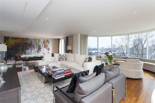Thumbnail Flat for sale in Dolphin House, Lensbury Avenue, Imperial Wharf, London