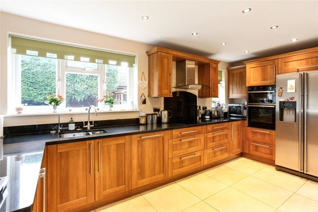 Kitchen of Netherhouse Moor, Church Crookham, Fleet, Hampshire GU51