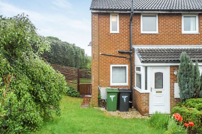 Thumbnail Terraced house to rent in Lindisfarne Walk, Guidepost, Choppington