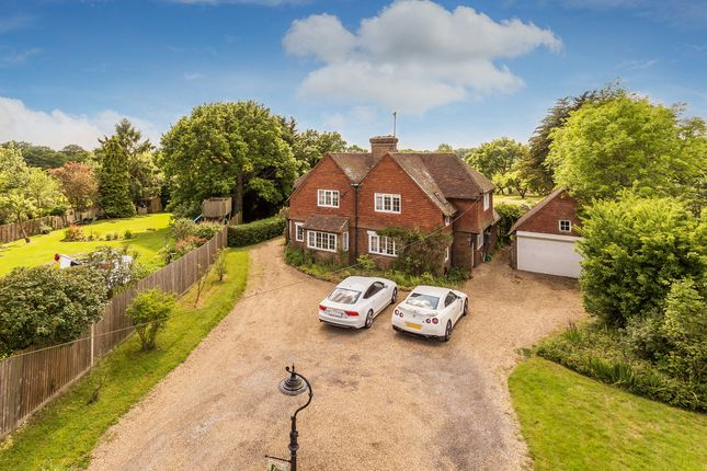 Thumbnail Detached house for sale in Merle Common Road, Oxted
