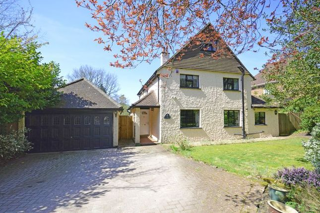 Thumbnail Detached house for sale in Opposite Ludshott Common, Seymour Road, Headley Down
