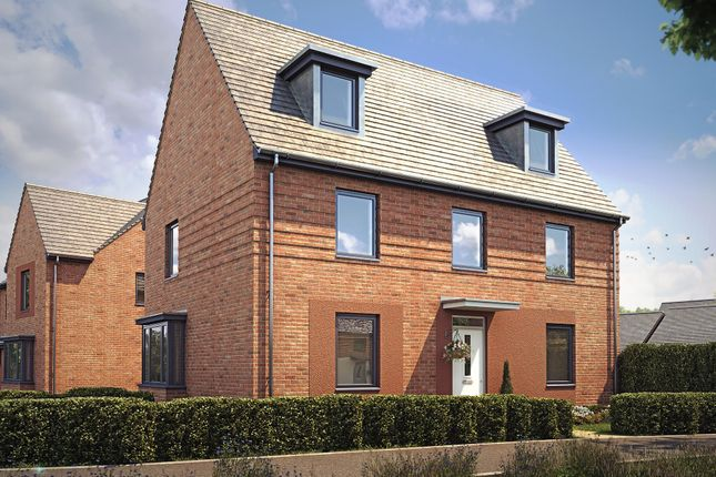 "Thumbnail Detached house for sale in ""Maddoc"" at Langaton Lane, Pinhoe, Exeter"
