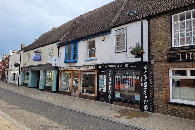 Thumbnail Retail premises for sale in & 138B High Street, Huntingdon, Cambridgeshire