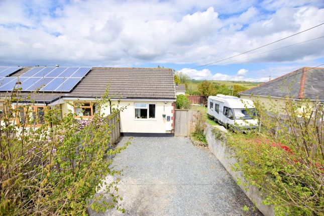 1 bed semi-detached bungalow for sale in Station Road, Bere Ferrers, Yelverton PL20