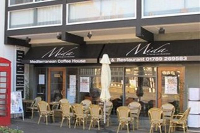 Thumbnail Restaurant/cafe for sale in High Street, Stratford-Upon-Avon
