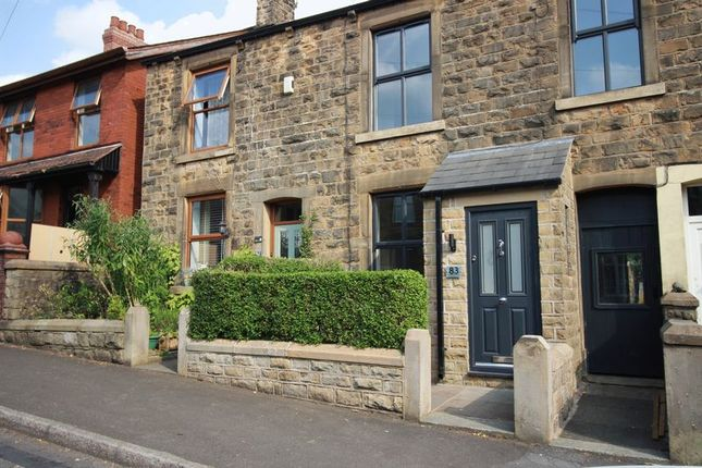 Thumbnail Terraced house to rent in Newshaw Lane, Hadfield, Glossop