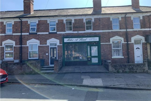 Thumbnail Retail premises for sale in Shop Unit With Residential Flat, 3 Crowmere Road, Shrewsbury, Shropshire