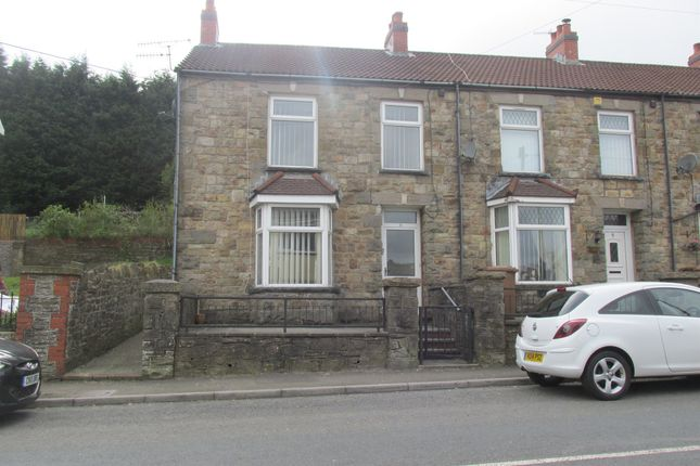 Thumbnail End terrace house for sale in Southend Terrace, Pontlottyn, Bargoed