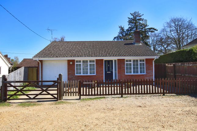 Thumbnail Detached bungalow to rent in Brockenhurst, Hampshire