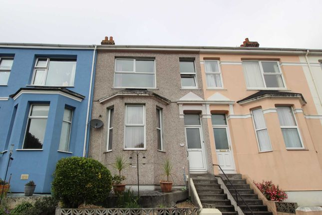 Thumbnail Terraced house to rent in South View Terrace, Plymouth