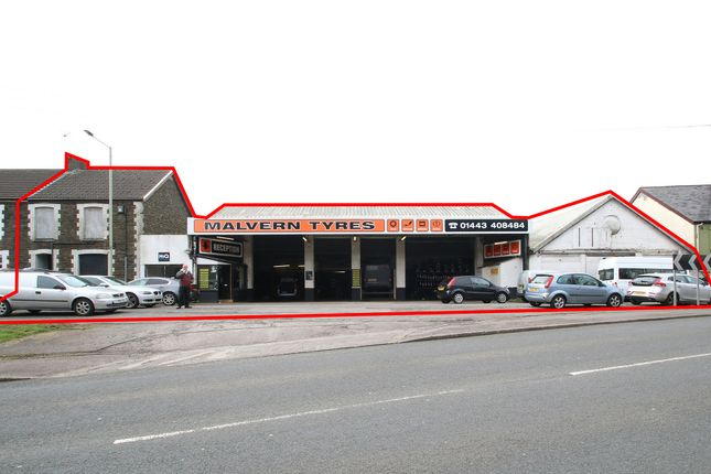 Thumbnail Retail premises for sale in Old Cardiff Road, Treforest