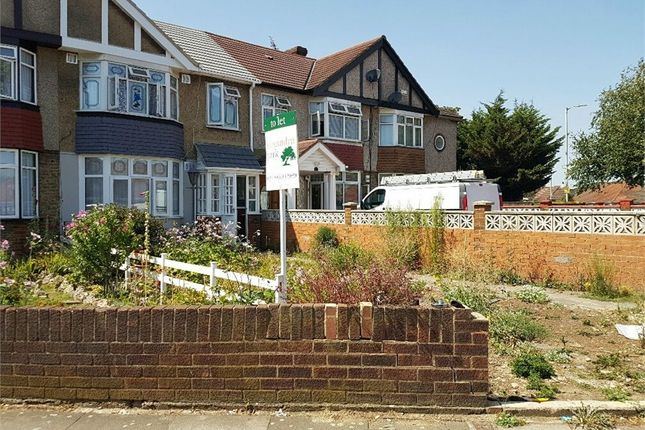 Thumbnail Terraced house to rent in Crane Gardens, Hayes, Middlesex