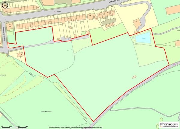 Thumbnail Land for sale in Land, Residential Development Site, Off Queen's Road West, Cowlersley, Huddersfield, West Yorkshire
