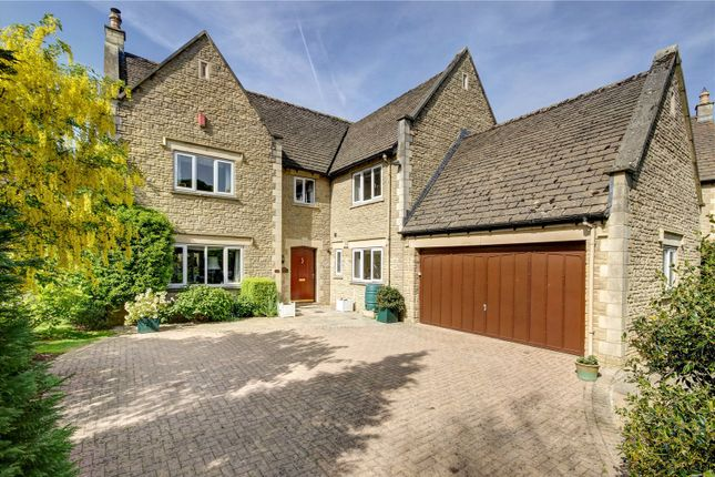 Thumbnail Detached house for sale in Oaklands, Somerford Road, Cirencester, Gloucestershire