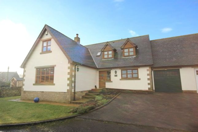 Thumbnail Link-detached house for sale in Meadow View, Tindale Fell, Brampton, Cumbria