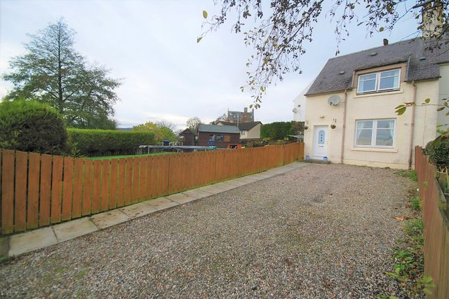 Thumbnail End terrace house for sale in Croftnappoch Place, Crieff