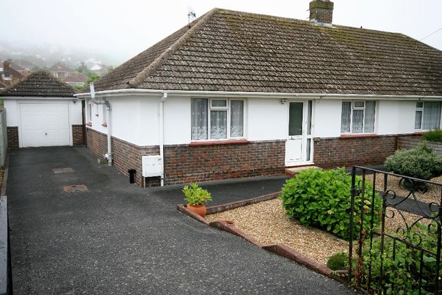 Thumbnail Semi-detached bungalow to rent in Saltdean Vale, Saltdean, Brighton