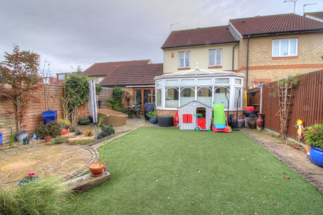 Thumbnail Semi-detached house for sale in Cookson Grove, Northumberland Heath