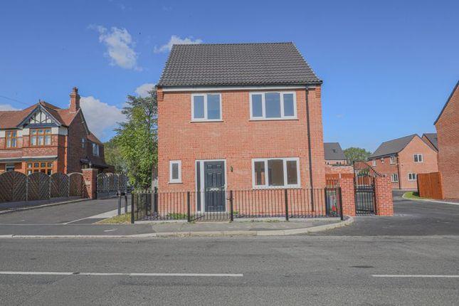 Thumbnail Detached house for sale in Plot 1 Loscoe, Denby Lane, Heanor