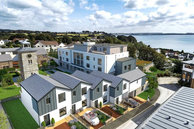 Thumbnail Flat for sale in The Courtyard, Duporth, St. Austell, Cornwall