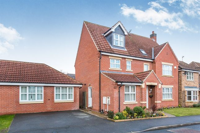 Thumbnail Detached house for sale in Birchway Grove, Littleover, Derby