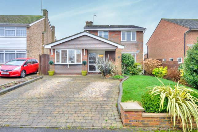 Thumbnail Detached house for sale in Greenways, Bow Brickhill, Milton Keynes
