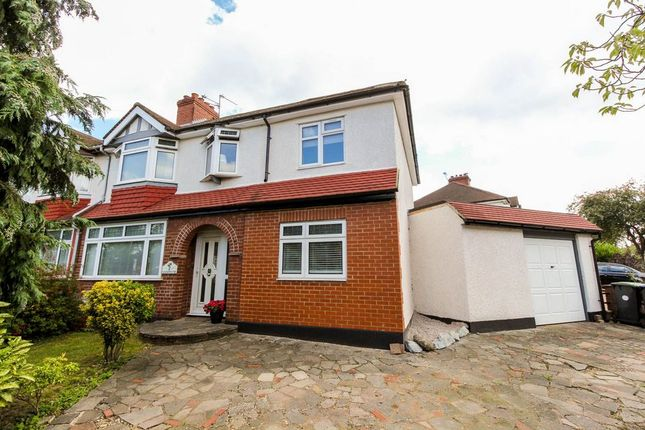 Thumbnail Semi-detached house for sale in Goodwood Avenue, Enfield